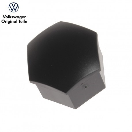 Capuchon de boulon de roue noir 17mm
