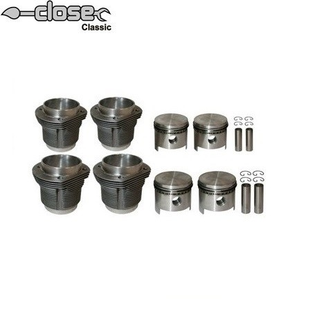 Kit cylindres pistons 1641 MAHLE forgé