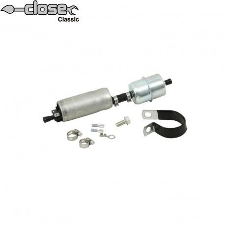 Pompe à carburant electrique pour moteur à carburateur